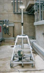 屋内電波測定用/伸縮ポール/ユアサ工機