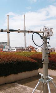 2局間無線通信用/伸縮ポール/ユアサ工機