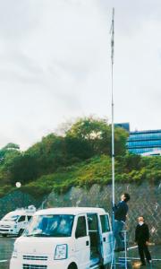 電波測定用/伸縮ポール/ユアサ工機